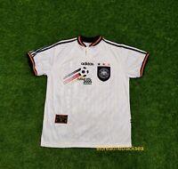 GERMANY NATIONAL TEAM 1996 1998 HOME FOOTBALL SOCCER SHIRT JERSEY TRIKOT MEN L