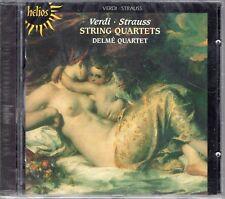 Verdi · Strauss - String Quartets / Delmé Quartet