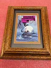 BS8 SOLID oak 5 x 7 picture frame Made in USA By art Dreams Ventura California
