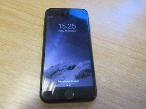 Apple iphone 7 - 128gb - Matt Black (Unlocked) Read Description - D593
