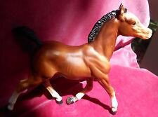 BREYER HORSE COLT BROWN WHITE RUNNING FOAL VINTAGE