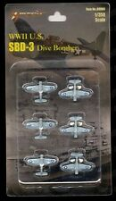 WWII SBD-3 Dive Bomber 1/350 Mini Models (Set of 6) 89004