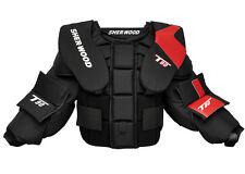 New Sherwood T90 goalie chest protector size JR Large junior arm ice hockey boys