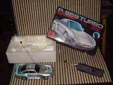 "RARE ""GREAT POWER P.959 TURBO"" RADIO CONTROL 1:24 SCALE CAR W/BOX! PERFECT SHAPE"
