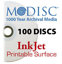 M-Disc 1000 Year InkJet Printable Media DVD+R 4.7GB 4x (100 Discs) Millenniata