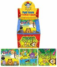 6 x Jungle Jigsaw Puzzles - Children's Activities / Party Bag Fillers!