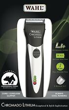 New Wahl 41871-0434 Chromado Lithium Cordless Rechargeable Animal Dog Clipper