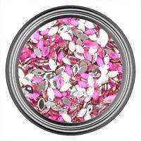 Dark Pink Oval Rhinestone Gems Flatback Face Art Nail Art Scrapbook Phone 3mm