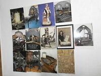 4.Los Konvolut 100 nost. Postkarten Werbung Reclame für alte Druck Kopiertechnik