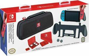 Nintendo Switch Game Traveler - GoPlay Pack New - GIFT SET IDEA - Case, Holder