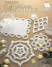 Heirloom Doilies Plastic Canvas Patterns Annie's Attic Carolyn Christmas 1997