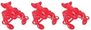 3 -Inflatable Lobsters - 20 inch- Luau Nautical Party Decor Clam Bake Beach