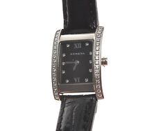 Mondia con strass orologio donna ref.9-351-12 nero new  I057