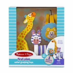 Melissa & Doug First Play Safari Grasping Toys #3206