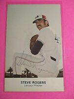 Steve Rogers Montreal Expos Signed AUTOGRAPH AUTO Photograph