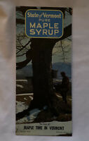 Vermont Maple Syrup 1960's Bulletin #38 Pamphlet Booklet Recipes