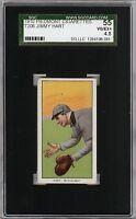 Rare 1909-11 T206 Jimmy Hart Southern League Piedmont 350 SGC 55 / 4.5 VG-EX+