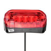 36V LED Tail Light Scooter E-bike Turn Signal Rear Lamp Electric Bicycle