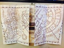 Marauder's Map Hogwarts Wizarding World Harry Potter Warner Bros - BRAND NEW!!!