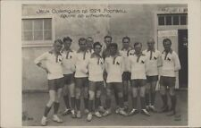 FOOTBALL JUEGOS OLIMPICOS 1924 EQUIPE DE LITHUANIE 310  REAL PHOTO