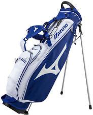 Mizuno Japan Golf Carry Caddy Club Case Stand Bag 5LJC172400 White Blue