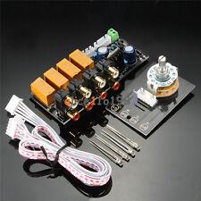 DIY Board Relay Switch Signal Selector Audio Input Signal Amplifier Board