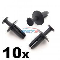 10x 6mm Body & Panel Trim Clips- BMW 51111908077 / 51110029491 Boot lining etc