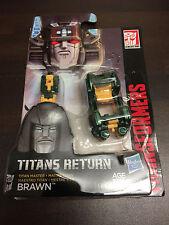 Transformers Titans Return Titan Master Brawn NEW