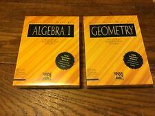 Vtg Sealed Cliffs Study Ware Geometry Algebra l Ibm Tandy & Windows Compatibles