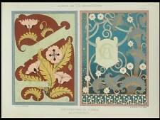 COUVERTURES LIVRES, ART NOUVEAU -1898- LITHOGRAPHIE, HERBINIER