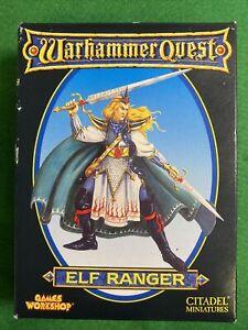 Warhammer Quest Elf Ranger Expansion Boxed Games Workshop Metal Citadel BNIB OOP
