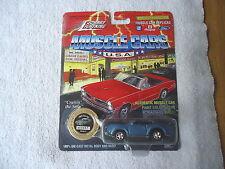 """Vintage 1994 Johnny Lightning 1969 Olds 442 Blue Car """" Awesome Car """" """" Nip """""""