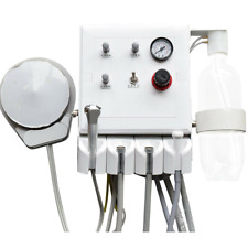 Portable Dental Turbine Unit 3 Way Straw Wall Mounted 4 Holes Weak Suction Usa