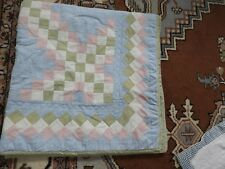 Oversized Baby Quilt - All Cotton - Ultra Soft Home Made