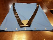 Kielstreifen  für Faltboot 500x500x20 cm schwarz PVC Streifen