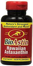Nutrex Hawaii BioAstin Hawaiian Astaxanthin, 120 Gel Caps supply, 4mg