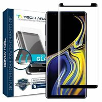 Tech Armor 3D Curved Ballistic Glass Screen Protector for Samsung Galaxy Note 9