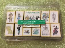 """Vintage """"Wizard Of Oz"""" Rubber Stamp Set ~ Lot of 11 All Night Media Very Rare!"""