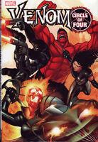VENOM Circle Of Four HC Hardcover X-23 Red Hulk Rick Remender *Sealed/NM*