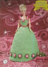 Frog Prince FAIRY TALE Collection Annies Fashion Doll or Barbie Crochet Pattern