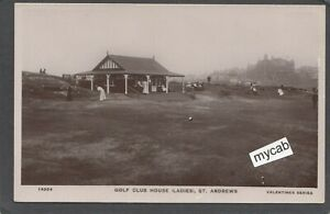 Postcard St Andrews Fife Scotland the Ladies Golf Club House early RP