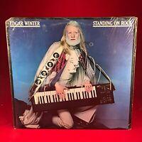 Edgar Winter Debout Sur Rock - 1981 USA Vinyle LP+Inner Excellen État