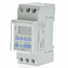 THC15A AC 220V Digital LCD DIN Programmable Weekly Rail Timer Time Relay Switch