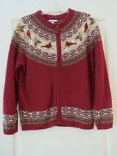 Croft & Barrow cardigan sweater, size M