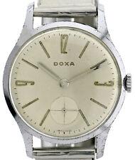 Doxa Herren Vintageuhr 60-70'er Jahre Stahl Handaufzug Ref. 12301 Ø35mm Kal. 123