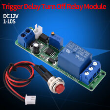 DC 12V Adjustable Timer Delay Turn OFF Module Timing Relay Time Switch 1~10sec E