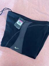 Nike Men's Poly Core Surge Square Leg Swimsuit Black Size TG 38 $52