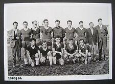 Mannschaftsbild Jahn Regensburg von 1963 ''