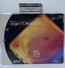 Sega Dreamcast Console with Box, Original Packaging, Bundle W/games Tested Read