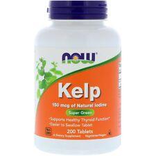 Los comprimidos de algas - 200 - 150mcg-Verde Algas Súper & suplemento de yodo